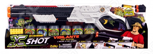 фото Двустволка X-Shot «Зомби», Другое игрушечное оружие