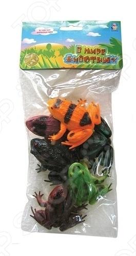 Набор игрушечных лягушек 1 TOY Т50503