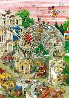 Настольная игра Пизанская башня (Robert Crisp), пазл 1000 элементов