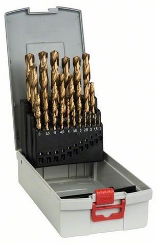 Набор сверл по металлу Bosch 2608587019 пилки для лобзика по металлу для прямых пропилов bosch t118a 1 3 мм 5 шт