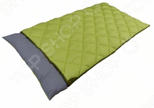 Спальный мешок Larsen 350W имеет прямоугольную форму и застегивается с помощью молнии, рассчитан на двух человек. Спальный мешок обеспечивает лучшую изоляцию от холода, чем обычное одеяло, а также дополнительную амортизацию. Для лучшей теплоизоляции и амортизации обычно лучше всего расположить на коврике.