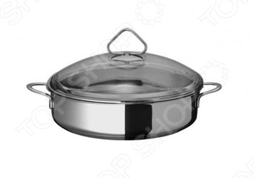 Жаровня «Стекло» купить в иванове посуду из нержавеющей стали