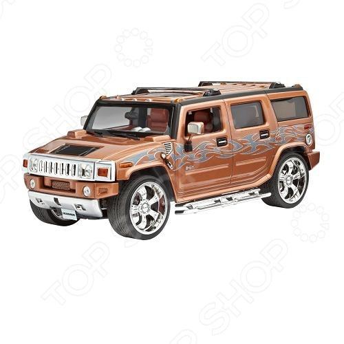 машины kidztech а м 1 26 hummer h2 Сборная модель автомобиля 1:25 Revell Hummer H2