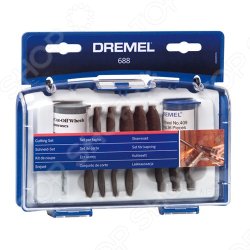 Набор насадок для резки Dremel 688 набор для домашнего декора dremel f013g290jd