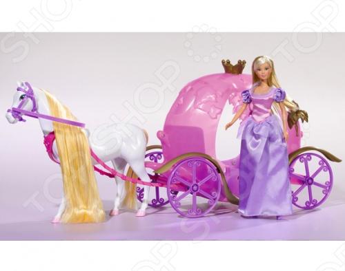 Кукла штеффи на карете Simba 5733974 кукла штеффи в карете simba 5739125