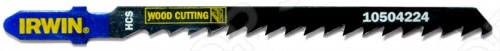 Пилки для электролобзика IRWIN T244D HCS