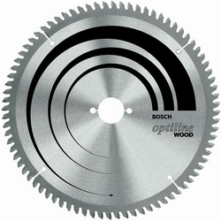 Диск отрезной для ручных циркулярных пил Bosch Optiline Wood 2608640629 диск отрезной для торцовочных пил bosch optiline wood 2608640432