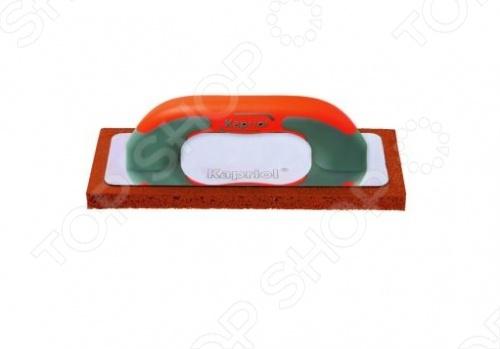 Терка штукатурная KAPRIOL с мягкой губкой  kapriol 50 см 23215 шпатель для финишных работ с ручкой progrip