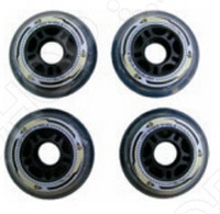 Колеса для роликов Larsen IW76 колеса для роликов larsen iw80 pu 80х24 мм 4 шт