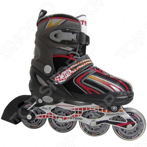 Детские роликовые коньки ATEMI AJIS-12.01 X9 junior