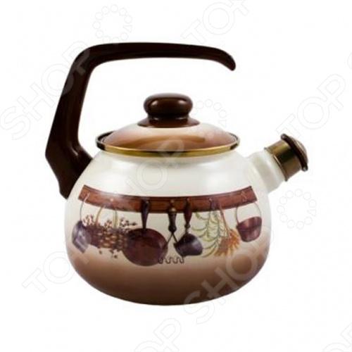 Чайник со свистком Metrot Кухня чайник metrot айва 2 5л эмал сталь со свистком