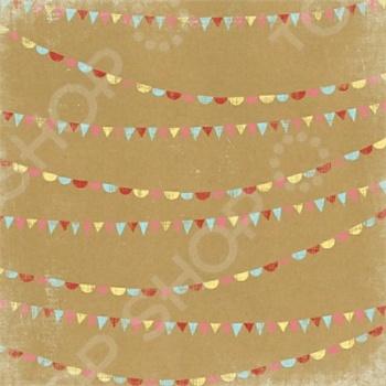 фото Бумага для скрапбукинга двусторонняя Morn Sun Sprinkles, купить, цена