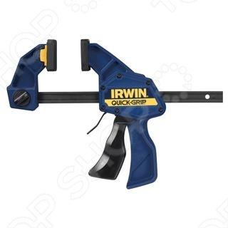Струбцина IRWIN Quick Grip XP - это приспособление для зажима и фиксации заготовок и деталей из пластика или дерева. Накладки на зажимной части способны фиксировать детали с неровной поверхностью. Изделие имеет прочную и продуманную конструкцию, для удобной и продолжительной эксплуатации.