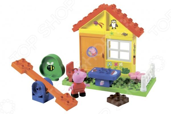 Конструктор детский BIG «Летний домик» конструктор lele майнкрафт летний домик 33096