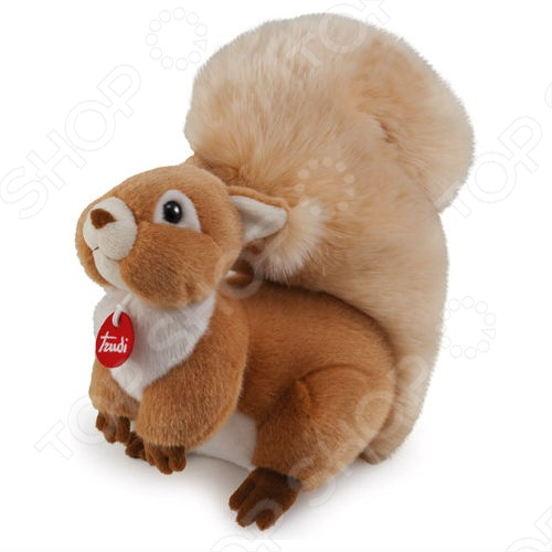 Мягкая игрушка Trudi Белочка Джинджер мягкая игрушка trudi лайка