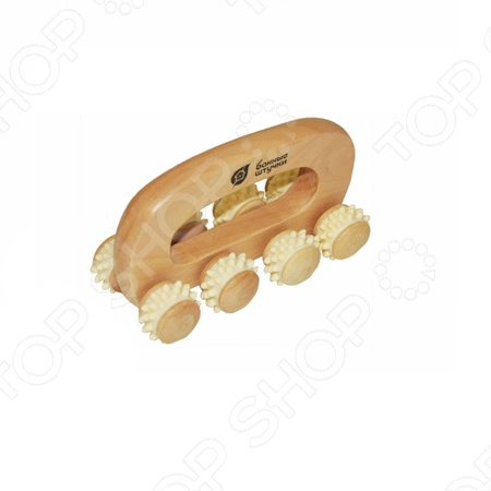 Массажер деревянный Банные штучки «Вездеход»