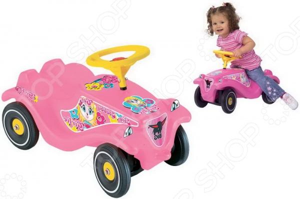 Детский автомобиль BIG Bobby Car Classic Girlie big машинка bobby car rot