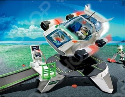 Планета будущего:Турбореактивный самолет Космических рейнджеров Playmobil 5150 5150pm playmobil® playmobil 5289 секретный агент мега робот с бластером