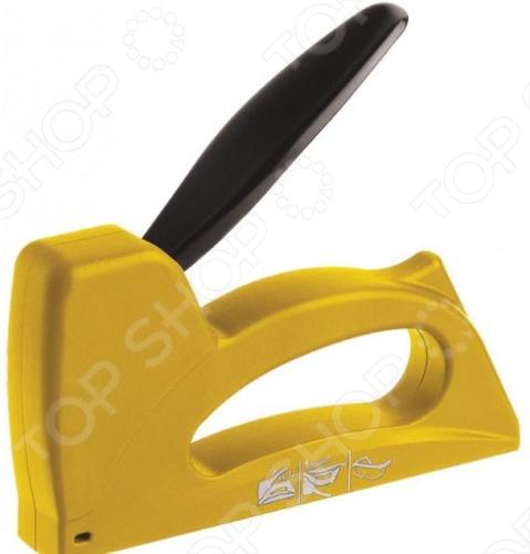 Степлер для узких скоб FIT 32104 предназначен для сшивания материалов с подложкой из древесины, например, для прибития тканей у мебели, пленок, панелей при отделке, теплоизолирующих материалов, фанеры и ДВП. Модель изготовлена из ABS пластика, который отличается высокой жесткостью и стойкостью к физическим нагрузкам.