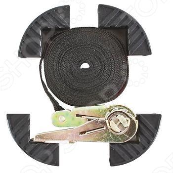 Ремень багажный с замком 25 мм х 5 м предназначен для фиксации грузов. Максимальная нагрузка составляет 1250 кг. Данная модель практичное и недорогое приобретение для автомобилиста, ценящего комфорт и качество. Материал: замок из углеродистой инструментальной стали, плетенный ремень из синтетических волокон.