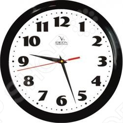 Часы настенные ВЕГА П 1-6 6-45 Черный кант Классика не только подскажут вам точное время, но и станут отличным предметом декора вашего жилища. Их дизайн выполнен в классической стилистике, что делает возможным их размещение в любом интерьере. Цифры на циферблате очень крупные и четкие, так что их может разглядеть даже слабовидящий или пожилой человек. Такие часы могут стать не только необходимым атрибутом вашего дома, но и отличным подарком для ваших родственников и друзей.
