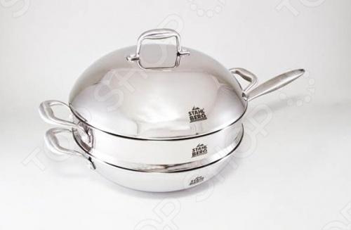 Набор кухонной посуды Stahlberg KROMWELL 1612-S набор посуды 6 предметов stahlberg mini 1790 s