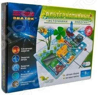 Конструктор электронный Знаток «Альтернативные источники энергии» электронный конструктор знаток альтернативные источники энергии 70096