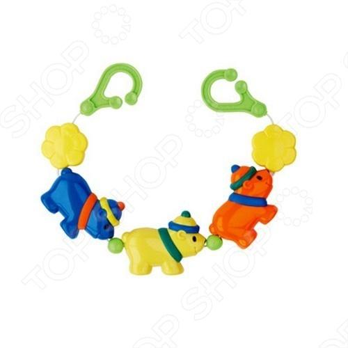 фото Игрушка-подвеска для кроватки и коляски Курносики «Веселые щенки», Аксессуары к коляскам