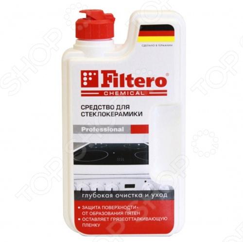 Чистящее средство для стеклокерамики Filtero 202 прекрасно подходит глубокой чистки и заботливым уходом. С её помощью вам без труда удастся очистить плиты, мойки, варочные поверхности из нержавеющей стали, эмали, керамики.