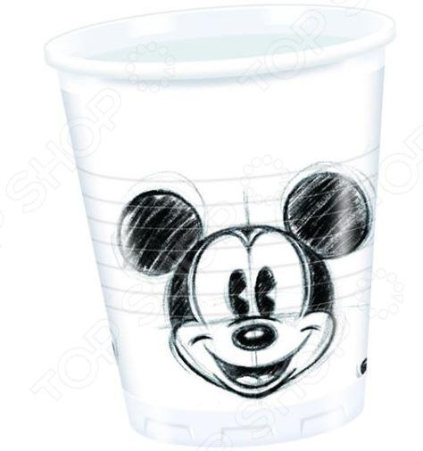 Стаканы пластиковые Procos «Гримассы Микки» стаканы пластиковые procos микки и его друзья сладости