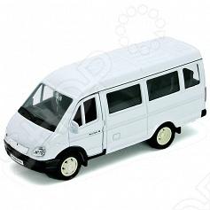 Модель машины 1:34-39 Welly «Газель пассажирская». В ассортиментеМодели авто<br>Модель машины 1:34-39 Welly Газель пассажирская это коллекционная модель, которая является копией настоящего автомобиля. Она изготовлена из металла с элементами пластика. У машинки открываются двери, двигаются колеса. Машинка является отличным подарком не только ребенку, но и коллекционеру. Однако, во время игры с такой машинкой у ребенка развивается мелкая моторика рук, фантазия и воображение.<br>