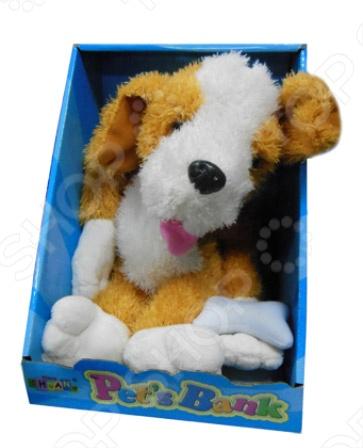 Мягкая игрушка интерактивная Собачка CL1166В интерактивная игрушка азбукварик мои мультяшки от 3 лет разноцветный 110 6
