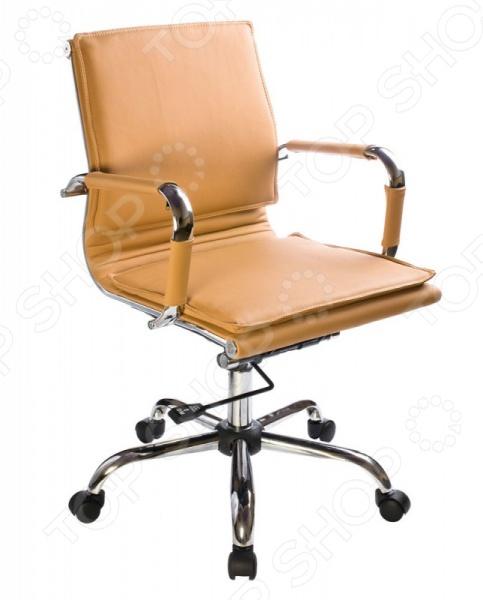 Кресло руководителя Бюрократ CH-993-LOW/CAMEL кресло бюрократ ch 1201nx yellow желтый