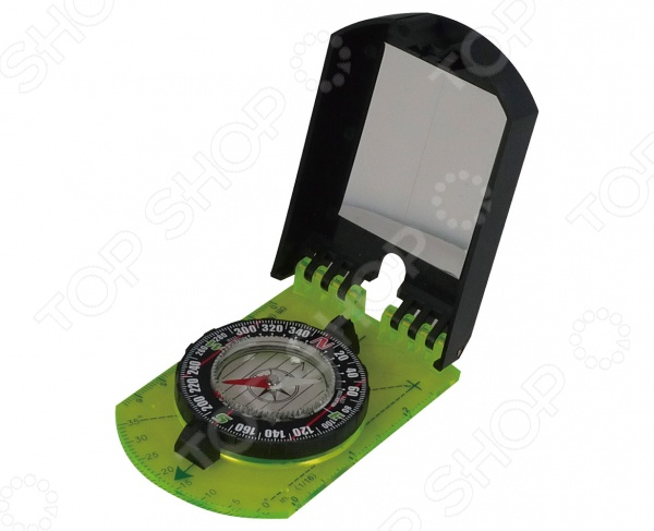 Компас с зеркалом AceCamp 3109Компасы<br>Компас с зеркалом AceCamp 3109 представляет собой замечательный аксессуар, который станет незаменимым помощником для всех любителей активного отдыха на природе. Вы можете использовать его в коротких или многодневных походах, при занятии альпинизмом, охоте, рыбалке. При помощи компаса вы всегда сможете определить свое местоположение и проложить наиболее оптимальный и легкий маршрут к поставленной цели.<br>