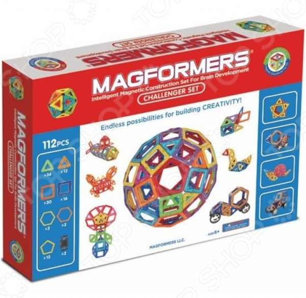 Magformers  Конструктор магнитный Challenger