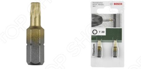 Бита Bosch Titanium T бита bosch 2607001573