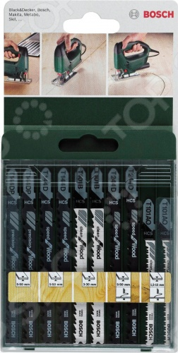 Набор пильных полотен Bosch SET T-XB 2609256744  цена и фото