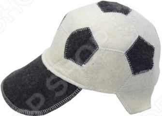 где купить  Шапка Банные штучки «Футбольный мяч»  по лучшей цене