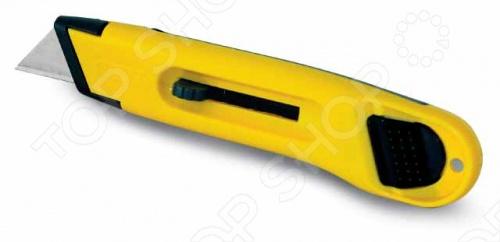 Нож строительный STANLEY с убирающимся лезвием нож строительный stanley mpp с выдвижным лезвием