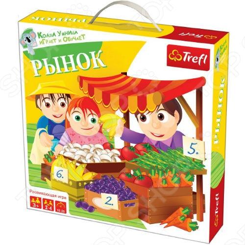 Игра настольная Trefl «Рынок!» рижский рынок купить цветы ночью