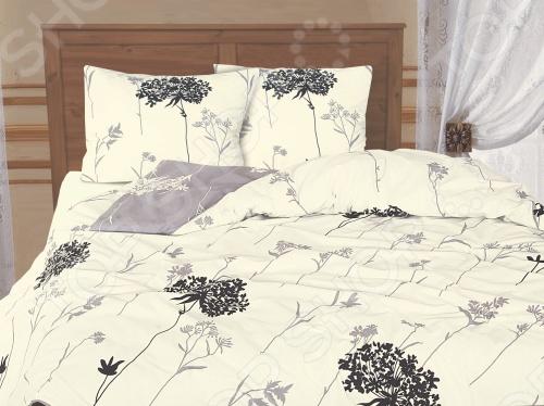 Элегантный дизайн в бежевом цвете со вставками черного комплекта постельного белья Tete-a-Tete Белла размерности семейная отлично впишется в интерьер вашей спальни. А высокая плотность нитей и стойкие красители продлят срок службы изделию. Изготовлен из бязи класса люкс плотностью 155 г м. Материал и красители абсолютно не вызывают аллергических реакций. Свойства изделия: 100 хлопок, плотность. Все предметы комплекта цельнокроеные.