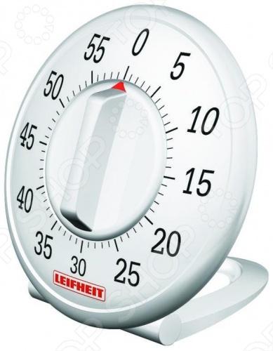 Таймер механический Leifheit SIGNATURE 22600Таймеры кухонные<br>Таймер механический Leifheit SIGNATURE 22600 используется для замера времени, когда готовится любимое блюдо. Прибор изготовлен из высококачественного пластика; прост в использовании. Можно выставить время от 1 до 60 мин. Чтобы завести таймер, необходимо повернуть ручку по часовой стрелке на полный оборот; повернув ручку против часовой стрелки, выставить необходимое время. В нужный час он оповестит вас о завершении приготовления блюда.<br>