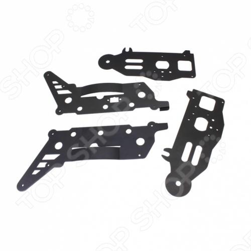 Детали каркаса для вертолета GYRO-VIZOR XL 1 TOY Т54807Запчасти к радиоуправляемым игрушкам<br>Детали каркаса для вертолета GYRO-VIZOR XL 1 TOY Т54807 - каждый раз, после поломки одной лопасти или части, игрушки уходят в мусорный мешок и выкидываются за не имением запасных, в этом вам поможет наш раздел для игрушечных зап. частей. Детали каркаса 4 шт. для игрушечных вертолетов GYRO-Vizor XL.<br>