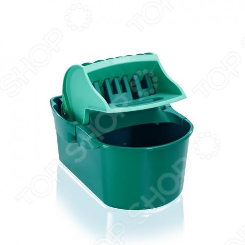 Ведро для мытья полов с отжимом Leifheit PERFECT 55080