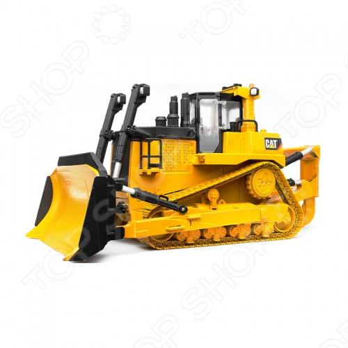 Бульдозер гусеничный Bruder CAT 02-452Машинки<br>Бульдозер гусеничный Bruder CAT 02-452 - прекрасно смоделированная игрушка, отличается хорошей детализацией. Машинка для строительных работ, снабжёна пластиковыми самоочищающимися гусеницами и отвалом, который поднимается опускается и фиксируется в нескольких положениях, меняет угол наклона. Подойдет как для игры в доме, так и на улице с друзьями. Игрушка готова подарить вашему малышу отличное времяпрепровождение за игрой. Отличный вариант для пополнения коллекции качественных игрушек.<br>