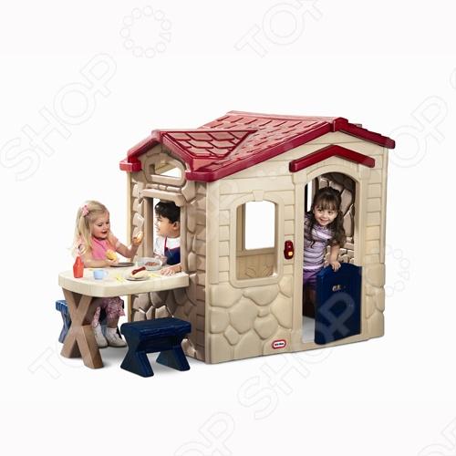 фото Домик игровой Little Tikes «Пикник» 172298, Игровые домики. Горки. Качели