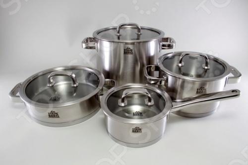 Набор кухонной посуды Stahlberg MIRANDA 1748-S набор кухонной посуды
