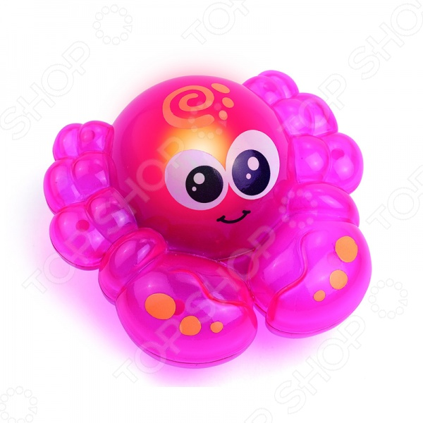 Игрушка для ванны HAP-P-KID «Крабик» игрушки для ванны hap p kid игрушка для ванной со световым эффектом крабик