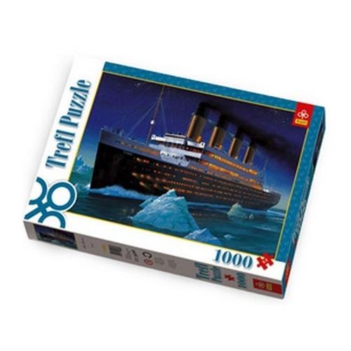 Пазл 1000 элементов Trefl «Титаник»