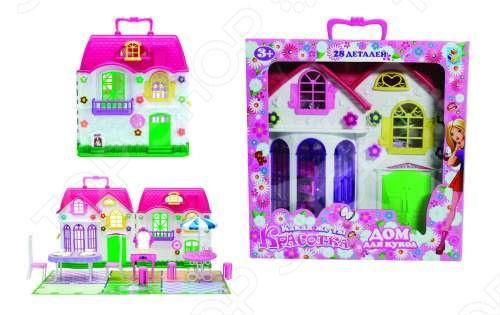 Дом для кукол с мебелью 1 TOY Т56585